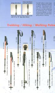 2009 Trekking/Hiking/Walking poles